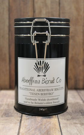 Image: Aberffraw Luxury Tin of Traditional biscuits 300g